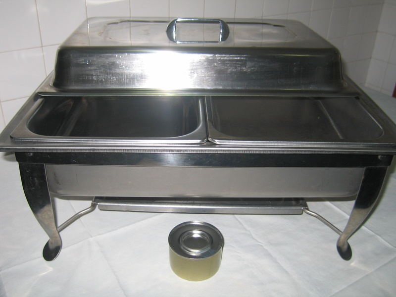 2in1 Chafing Dish ($30 rental)