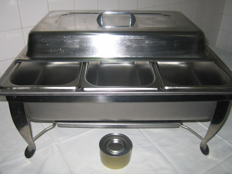 3in1 Chafing Dish ($40 rental)