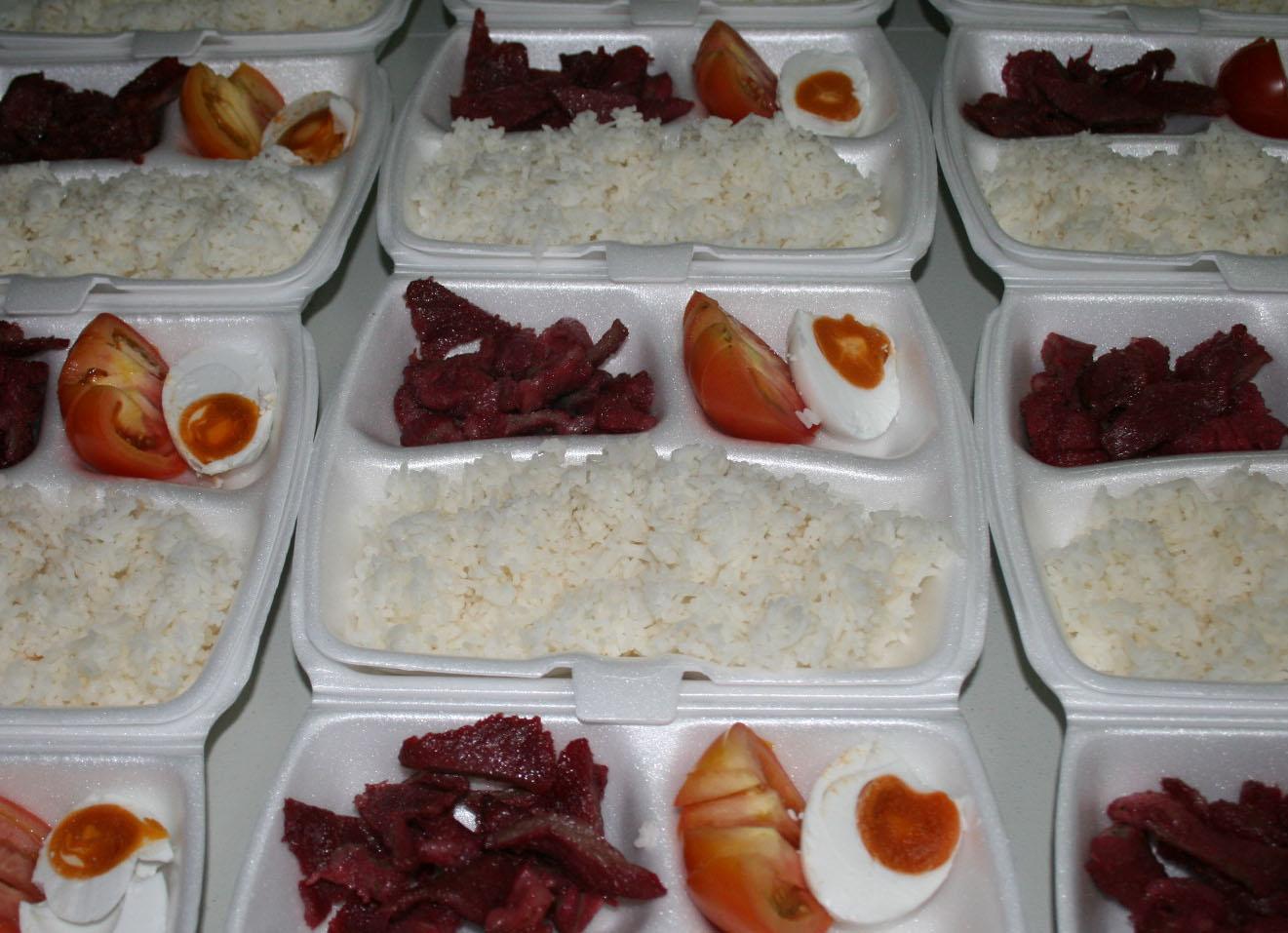 Pork Tocino & Itlog Maalat