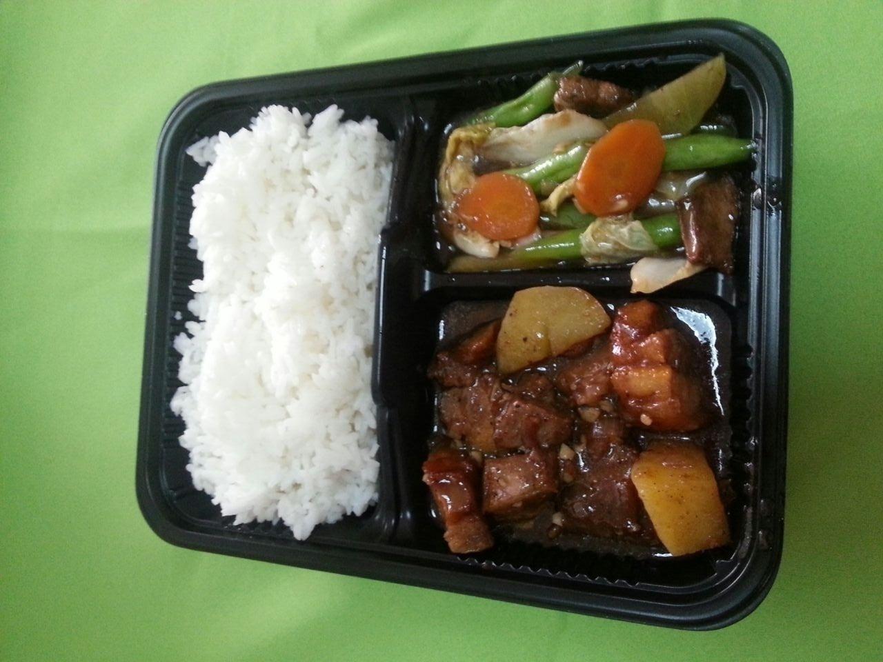 Pork Adobo & Chopsuey